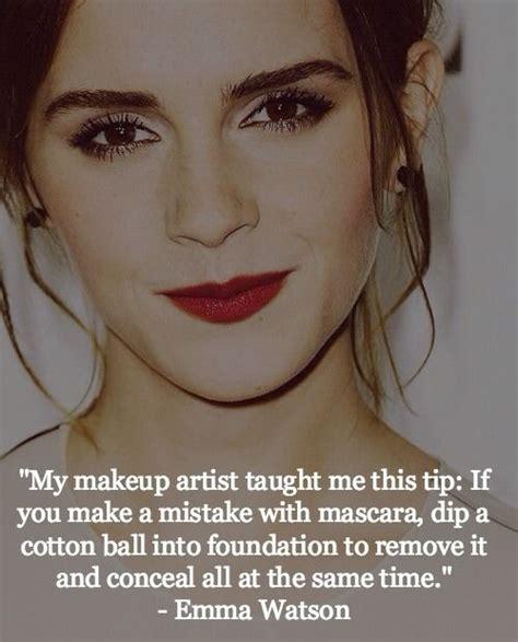 emma watson quotes on beauty emma watson beauty tips and mascaras on pinterest