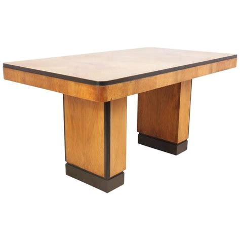 1930s Dining Table Deco Walnut Dining Table Circa 1930s For Sale At 1stdibs
