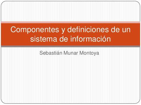 Metlife Stadium Floor Plan by Componentes De Un Sistemas De Informacion Componentes De