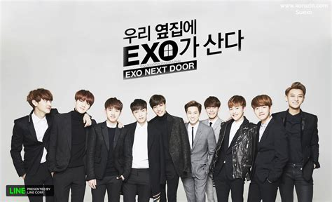 Wallpaper Exo Next Door | web drama exo next door