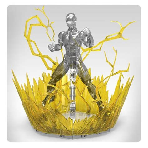 Figurise Aura Effect Yellow aura effect yellow figure rise effect accessory bandai hobby gunpla anime stands at
