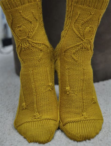free sock knitting patterns free knitting pattern for spider socks