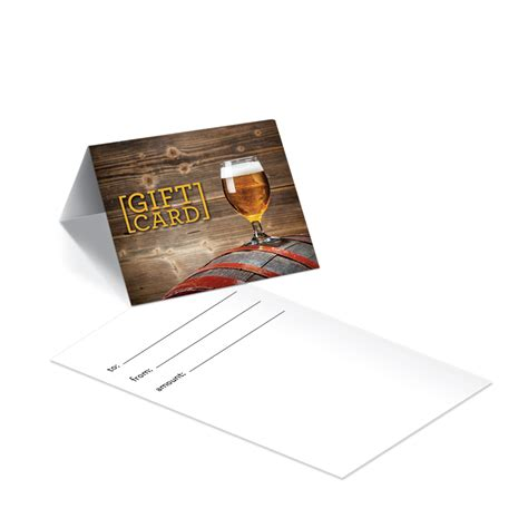 Brewery Gift Cards - design and sell custom gift cards at your retail store