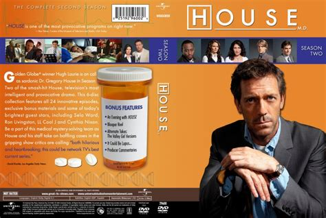 House Season 2 by House Md Season 2 Tv Dvd Custom Covers House Md 2