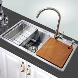 Touchless Kitchen Faucets good large capacity double bowl kitchen sinks and faucet
