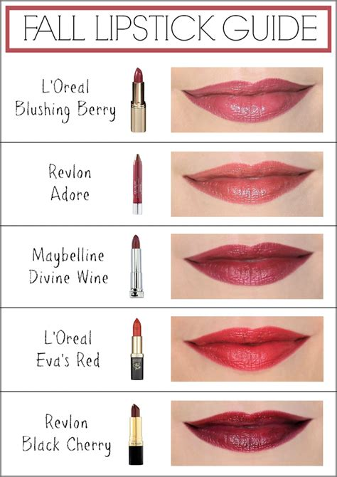 fall lipstick colors pincher fashion