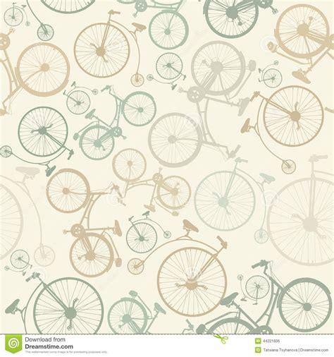 varias imagenes background css naadloos patroon met uitstekende fietsen op groene