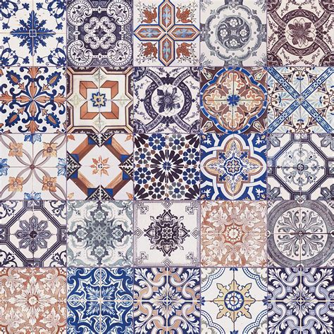 pattern ceramic wall tiles nikea mix pattern tile set by yurtbay 20x20 cm ceramic
