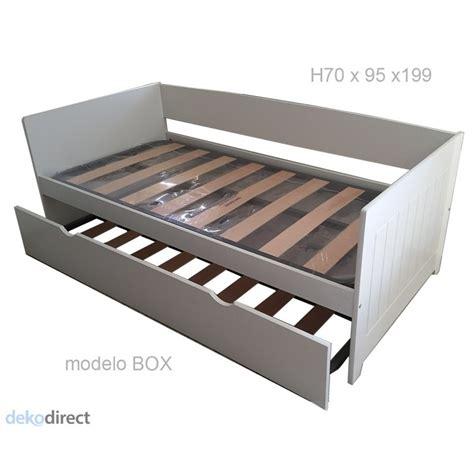 camas 105 cm camas nido de 105 cm good excellent cama nido x foto with