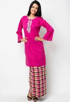 Baju Shilpa Black 1 muslimah black floral baju kurung pahang fashion