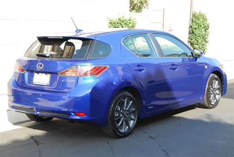 sporty lexus blue 2012 lexus ct200h f sport ultrasonic blue counting