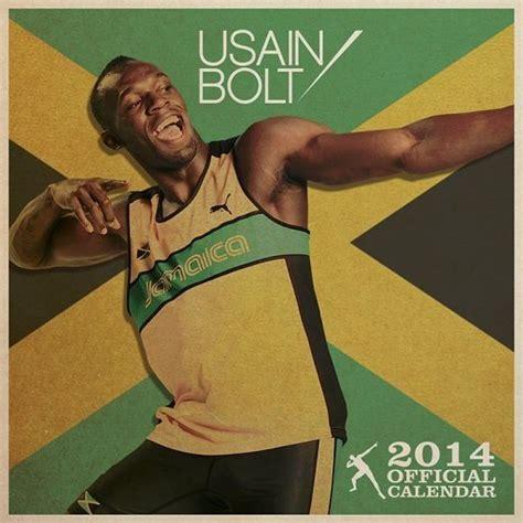 Calendã 2018 Comprar Calend 225 2018 Calendar 2014 Usain Bolt Em Europosters Pt