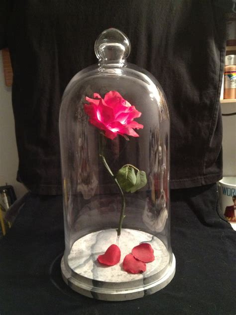 beauty and the beast rose prop replica paul pape designs