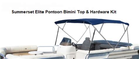 how to install bimini top on pontoon summerset elite sunbrella 4 bow bimini top with hardware