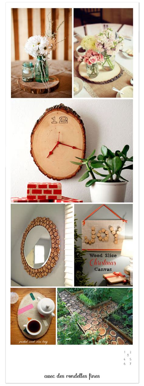 Diy Home Decor On A Budget 22 Diy Avec Une Bille De Bois Des Rondins Et Des Rondelles