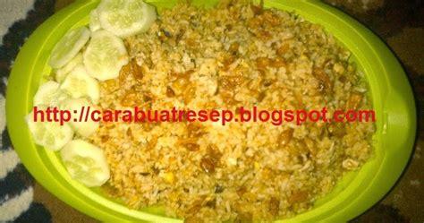 cara membuat donat asin cara membuat nasi goreng ikan asin jambal roti pedas