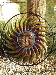 Outdoor Wall Decor Large by Large Metal Sun Wall Decor Garden Indoor Outdoor