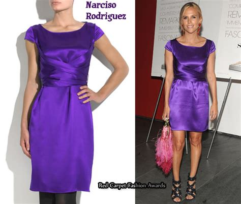 Who Wore It Better Narciso Rodriguez Lavender Tie Dress by In Burch S Closet Narciso Rodriguez Purple Silk