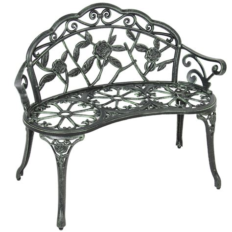 Design For Cast Iron Bench Ideas Bcp Outdoor Patio Garden Bench Park Yard Furniture Cast Iron Antique Design Ebay