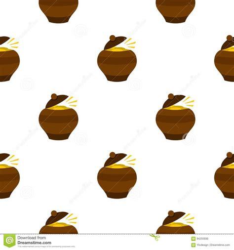 Pot Clay Gold Cactoon leprechaun illustrations vector stock images