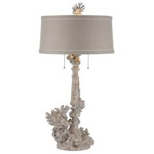 French Country Table Lamps - pair rustic chic coral french country table lamp kathy kuo home