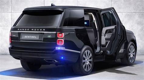 2020 Land Rover Range Rover by 2020 Land Rover Range Rover Sentinel Security Beneath