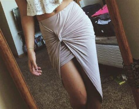 wrap banded draped cut out hi low asymmetrical high waist open maxi skirt s m l