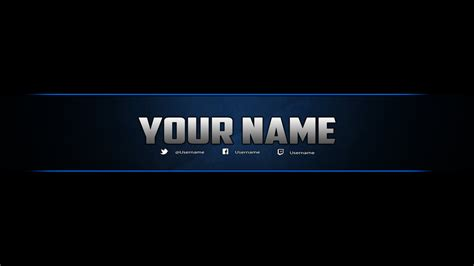 Youtube Banner Template Photoshop By Dazgames On Deviantart Free Gaming Banner Template