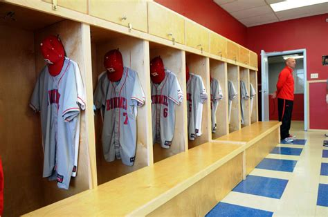 best college baseball locker rooms baseball hitting facility locker room archbishop rummel high school