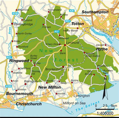 map uk national parks carte new forest parc national angleterre royaume uni