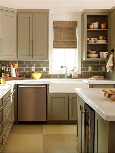 Looking Kitchens by 4 Great Tricks For Your Small Kitchen Look Larger