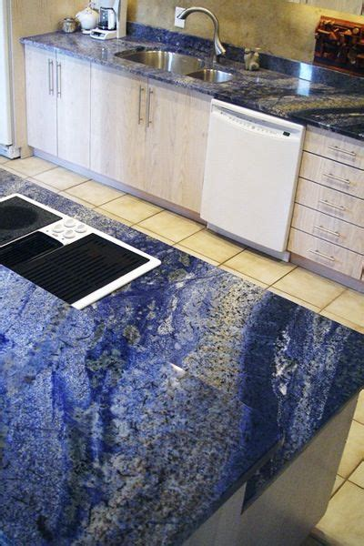 blue marble countertop 33 best blue granite countertops images on