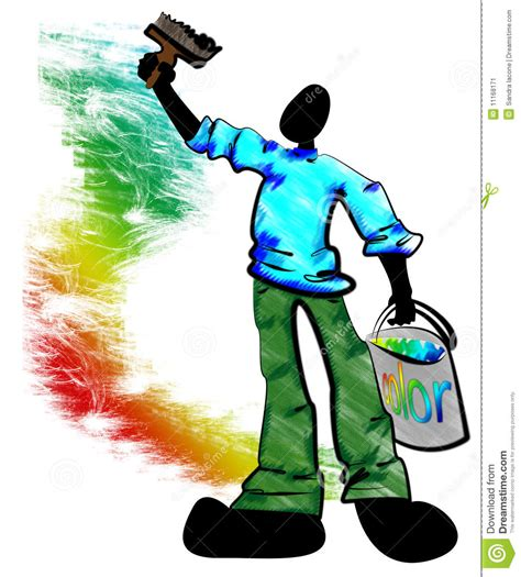 painter decorator stock image image 11168171