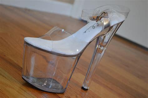 high heeled wedges platform shoe