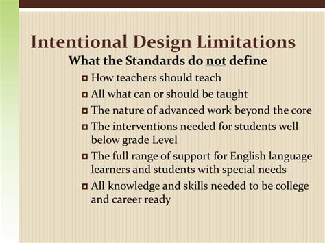 design limitations definition ppt welcome new perkins professionals powerpoint