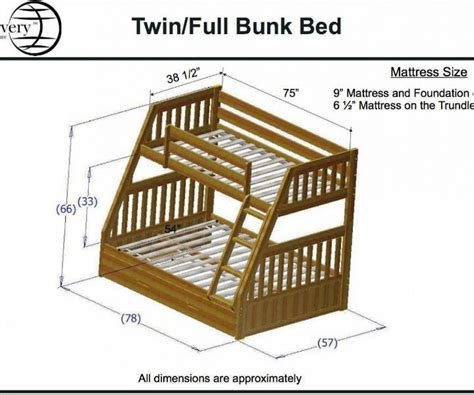 dimensions for full size bed full size bed rail measurements john s home best full