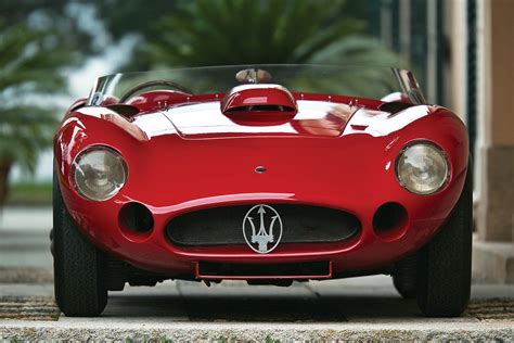 maserati 450s maserati 450s driven by stirling moss in 1956 mille miglia