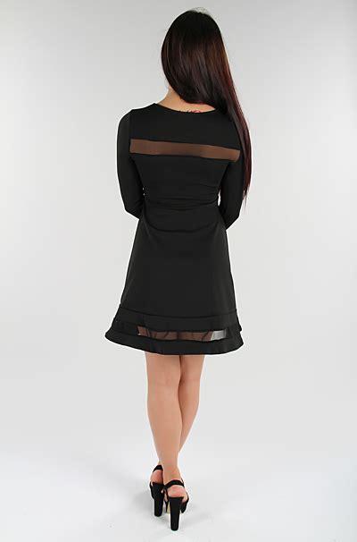 A01183 Dress Jumbo Marlyn Xl marlyn skater kjole sort missmartins dk