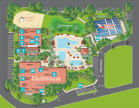 resort map view our golden palms rv resort map find your