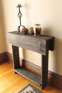 Entryway Furniture For Shoes Rustic Entry Table Reclaimed Wood Table Entry Way Shoe