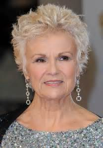 julie walters hairstyle classy celebrity hairstyles for women with gray hair julie