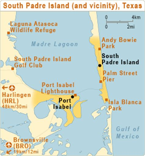 texas map south padre island south padre island texas atc