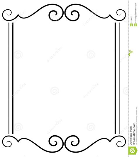 Borders Clipart 218945 Illustration By by Decorative Frame Stock Vector Illustration Of Embellish