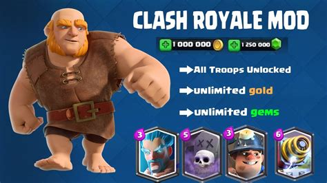 download game mod clash royale apk clash royale mod apk unlimited gems latest mod apk