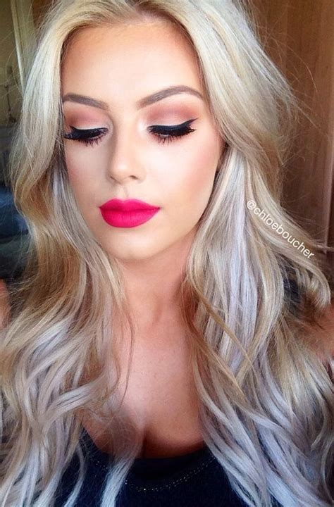 blonde lipstick colours like the sunset eyeshadow look not into that color for