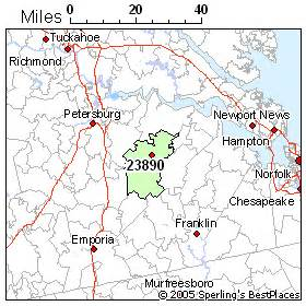 Waverly Virginia Map by Best Place To Live In Waverly Zip 23890 Virginia