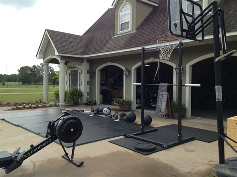 backyard crossfit gym great tabata space b22fit pinterest tabata gym and