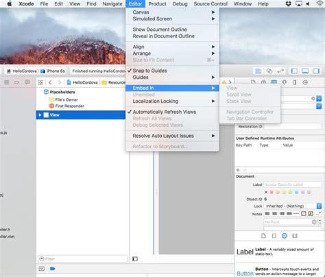Xcode Layout Navigation Bar | xcode ios status bar view controller to navigation