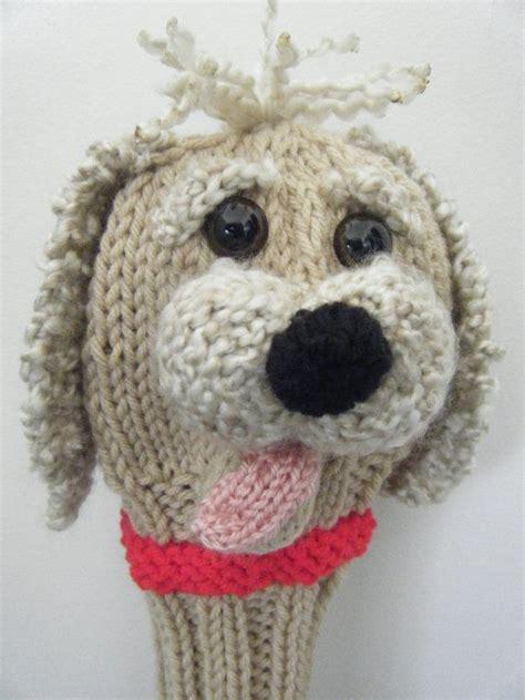 knitting pattern golf club covers hand knit golf club cover