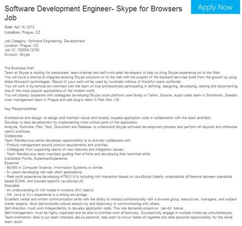 porte skype microsoft recrute des d 233 veloppeurs pour porter skype sur